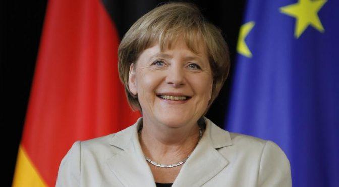Bundeskanzlerin Angela Merkdel